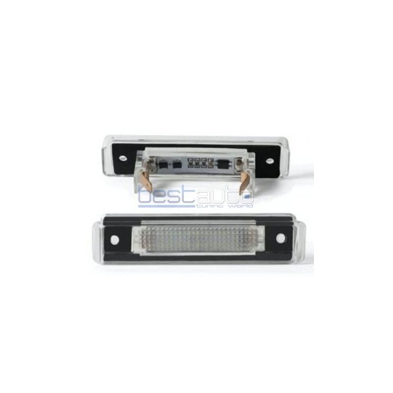 LED плафони за регистрационен номер за Mercedes W124 комби