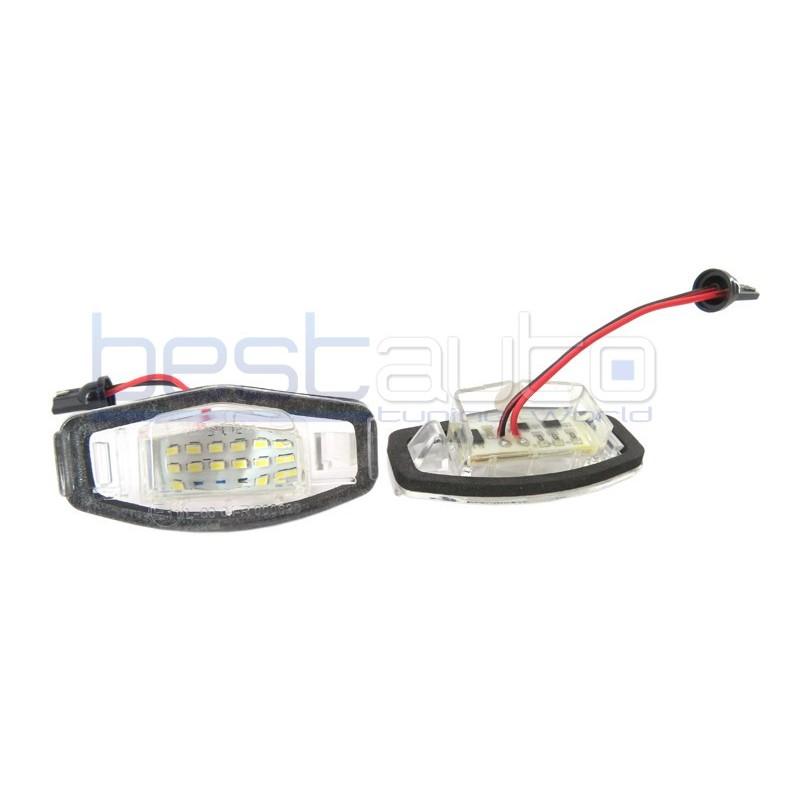 LED плафони за регистрационен номер за Honda Accord / Civic VII седан/хечбек / Civic VIII седан / City / Odyssey / Pilot