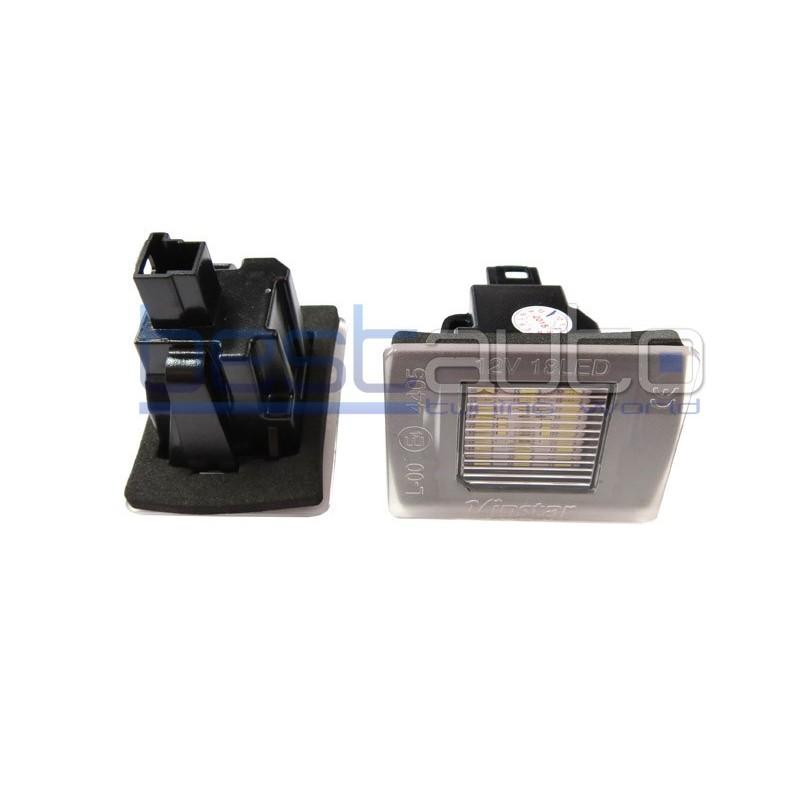 LED плафони за регистрационен номер за Mercedes A-Class W176 / GLA X156 / SLK R172 / GL X166 / ML W166