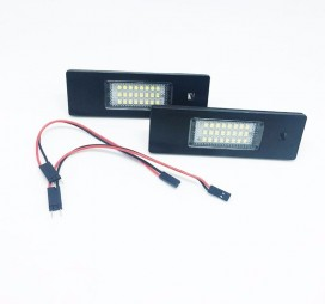 LED плафони за регистрационен номер за Alfa Romeo 147/156/159/166/GT/Brera/Spider