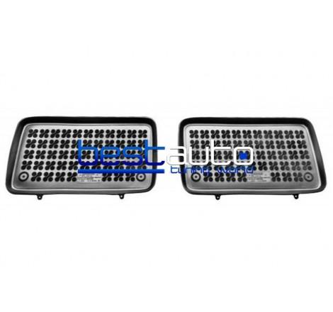 Автомобилни Гумени Стелки Rezaw Plast тип леген за Volkswagen Sharan (1996-2010) за 3-тия ред седалки