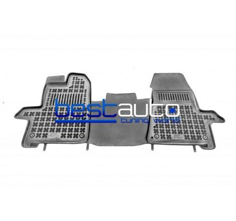 Автомобилни Гумени Стелки Rezaw Plast тип леген за Ford Tourneo Custom (2013+) 2-местен