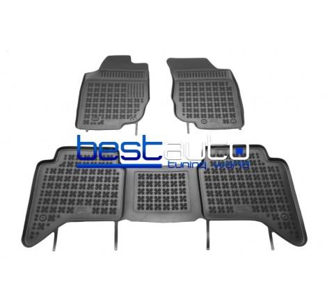 Автомобилни Гумени Стелки Rezaw Plast тип леген за Toyota Hilux (2005-2014) 4D