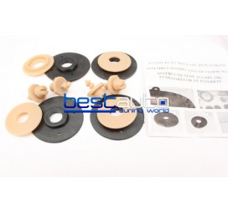Автомобилни Гумени Стелки Rezaw Plast тип леген за BMW E91 3-серия (2012+) Бежови