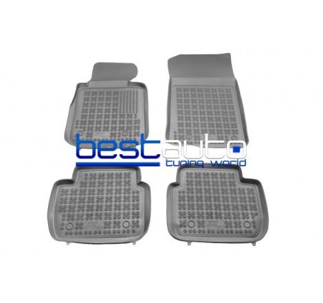 Автомобилни Гумени Стелки Rezaw Plast тип леген за BMW E90 3-серия (2005-2012) Сиви
