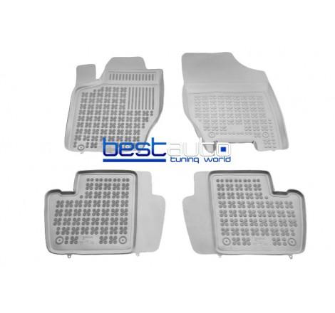 Автомобилни Гумени Стелки Rezaw Plast тип леген за Citroen C4 (2004+) Сиви