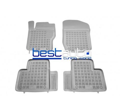 Автомобилни Гумени Стелки Rezaw Plast тип леген за Mercedes ML W164 (2005-2011) Сиви