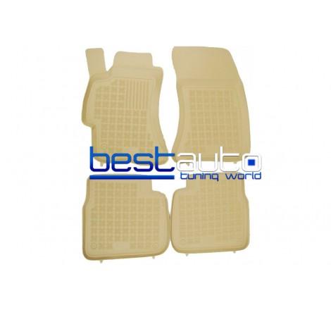 Автомобилни Гумени Стелки Rezaw Plast тип леген за Subaru Forester (2008-2013) Бежови