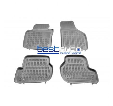 Автомобилни Гумени Стелки Rezaw Plast тип леген за VW Golf 6 (2008 - 2013) Сиви