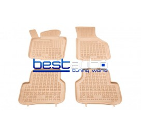 Автомобилни Гумени Стелки Rezaw Plast тип леген за VW Passat B6 (2005-2010) Бежови