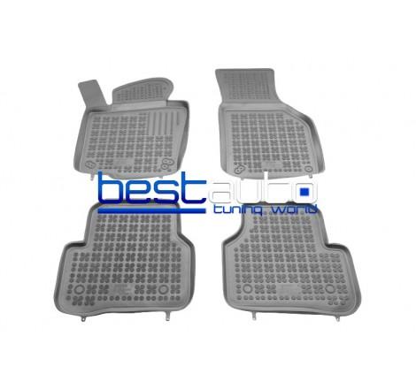 Автомобилни Гумени Стелки Rezaw Plast тип леген за VW Passat B6 (2005-2010) Сиви