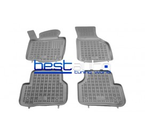 Автомобилни Гумени Стелки Rezaw Plast тип леген за VW Passat B7 (2010-2014) Сиви