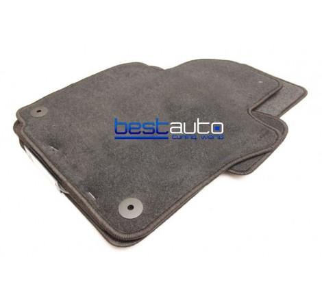 Мокетни стелки Petex за VW SCIROCCO (2008+) Lux материя с кръгли отвори
