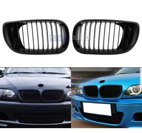 Бъбреци за BMW E46 черни Седан / Комби (2001-2005) [33007]