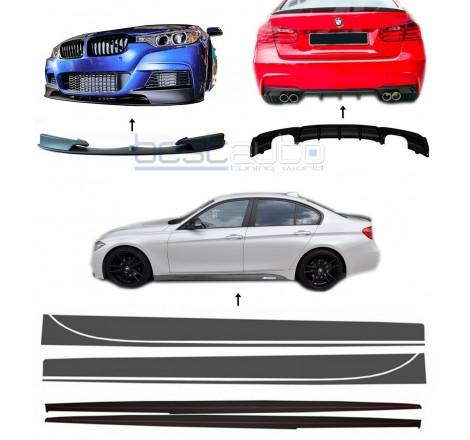 Комплект M-Performance Дизайн добавки за M Technik пакет за BMW F30 / F31