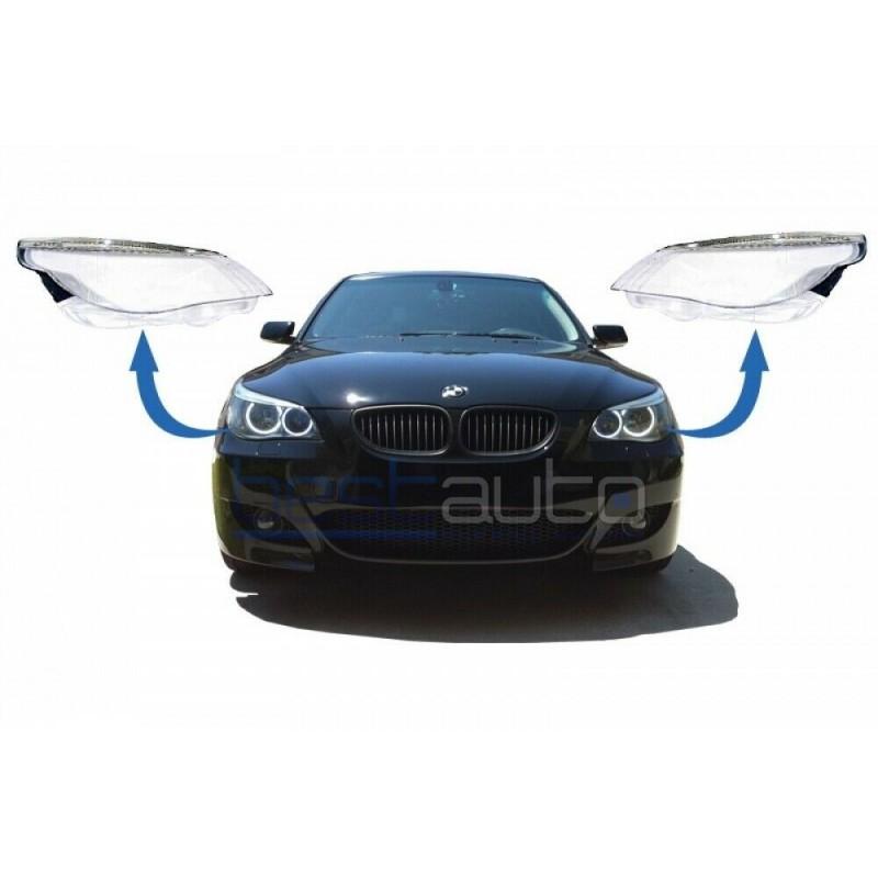 Стъкла / капаци за фарове за BMW E60 (2003-2007)