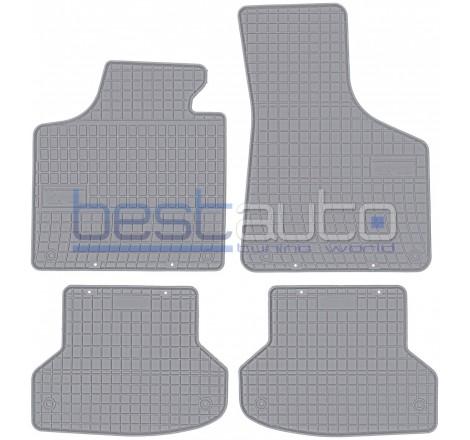 Гумени стелки Frogum за Ауди А3 8П / Audi A3 8P (03-12) сиви