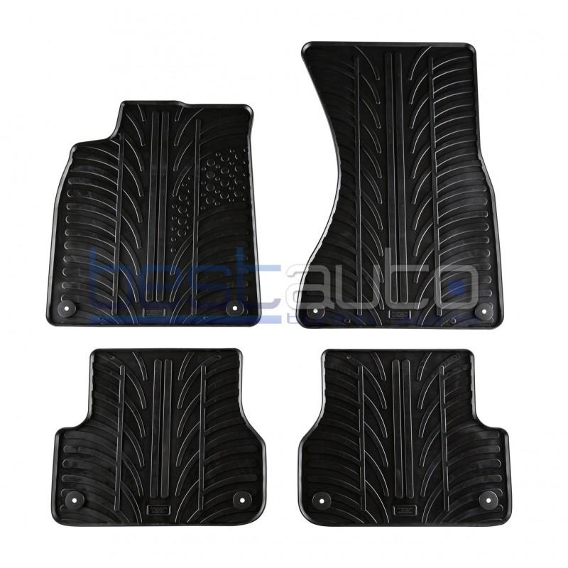 Автомобилни гумени стелки за Audi A6 (2011+)