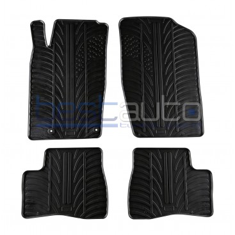 Автомобилни гумени стелки за Peugeot 206/SW/Plus (1998-2009)
