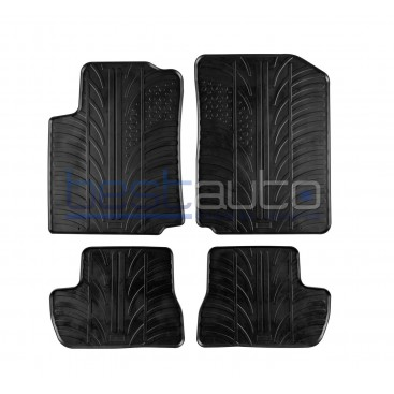Автомобилни гумени стелки за Citroen C2 (2002-2009)