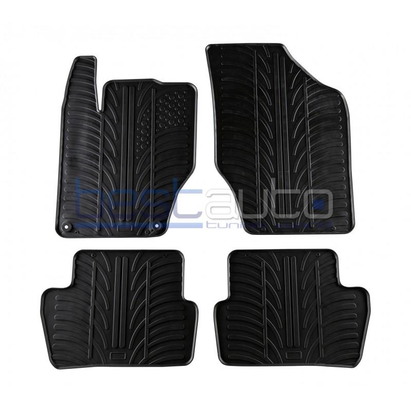 Автомобилни гумени стелки за Citroen C4 - 5 врати (2010+)