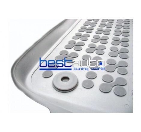 Автомобилни Гумени Стелки Rezaw Plast тип леген за Audi A4 B8 (2007+) Сиви