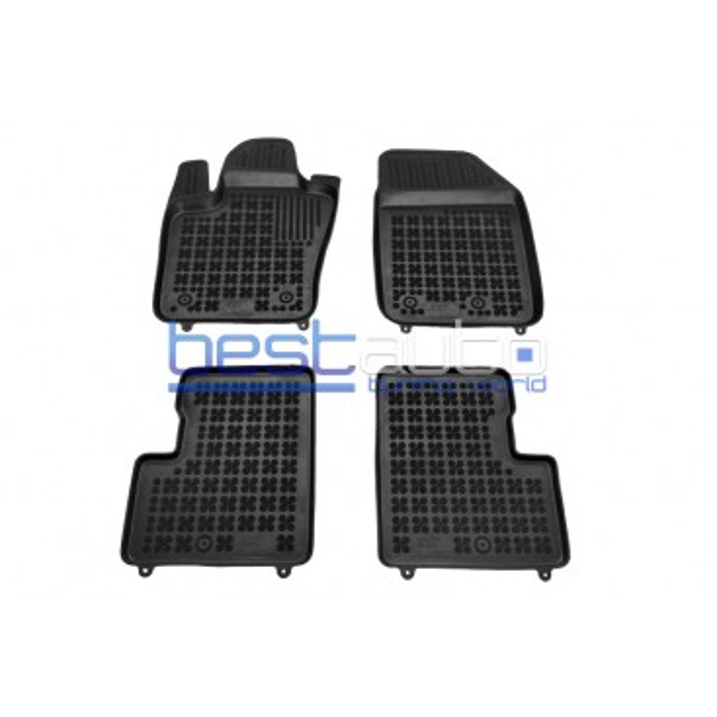 Автомобилни Гумени Стелки Rezaw Plast тип леген за Fiat 500X (2014+)