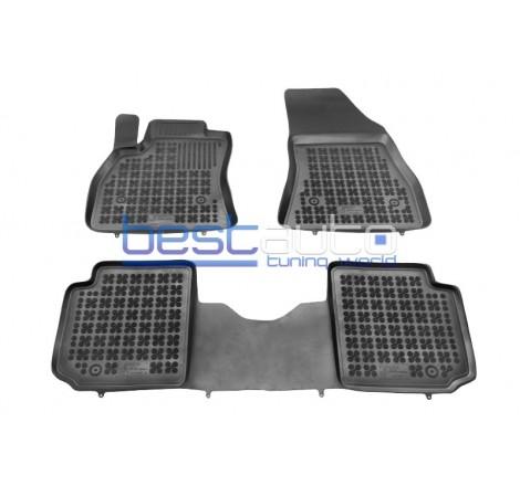 Автомобилни Гумени Стелки Rezaw Plast тип леген за Fiat 500L Living (2013+)