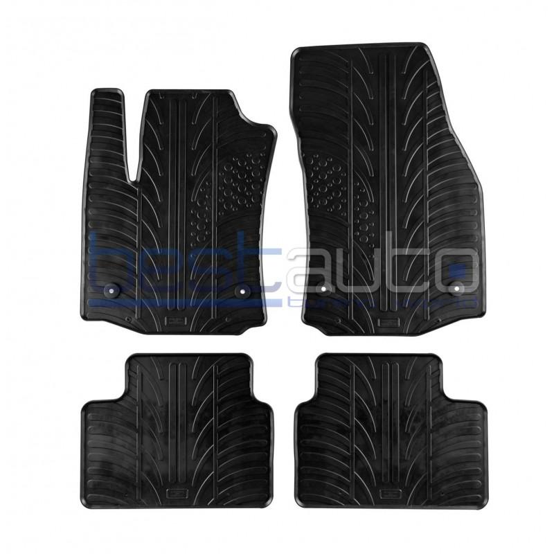 Автомобилни гумени стелки за Opel Meriva B (2010+)