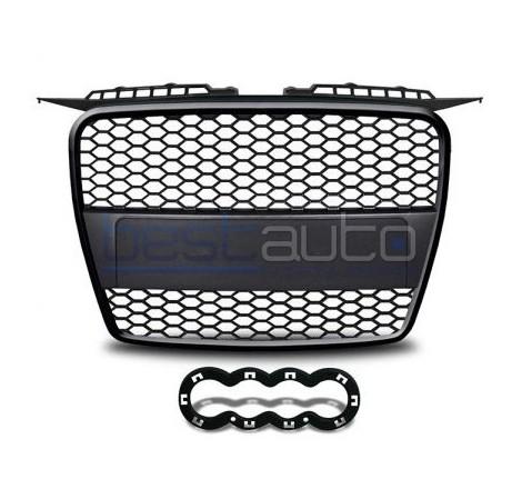 Тунинг решетка тип RS за Audi A3 8P (2003-2008) - черна