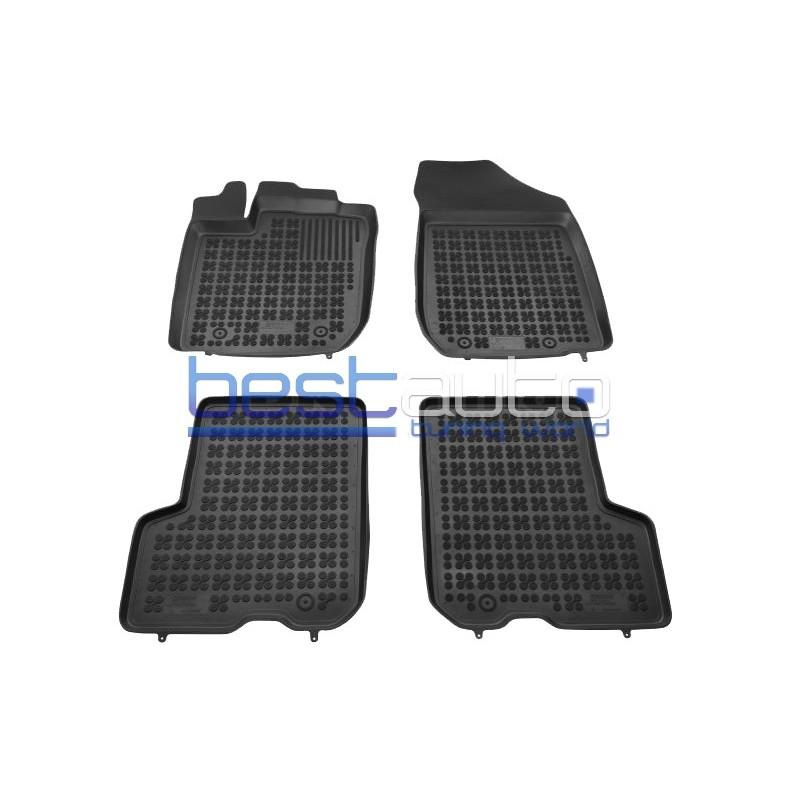 Автомобилни Гумени Стелки Rezaw Plast тип леген за Dacia Logan II MCV Седан (2013+)