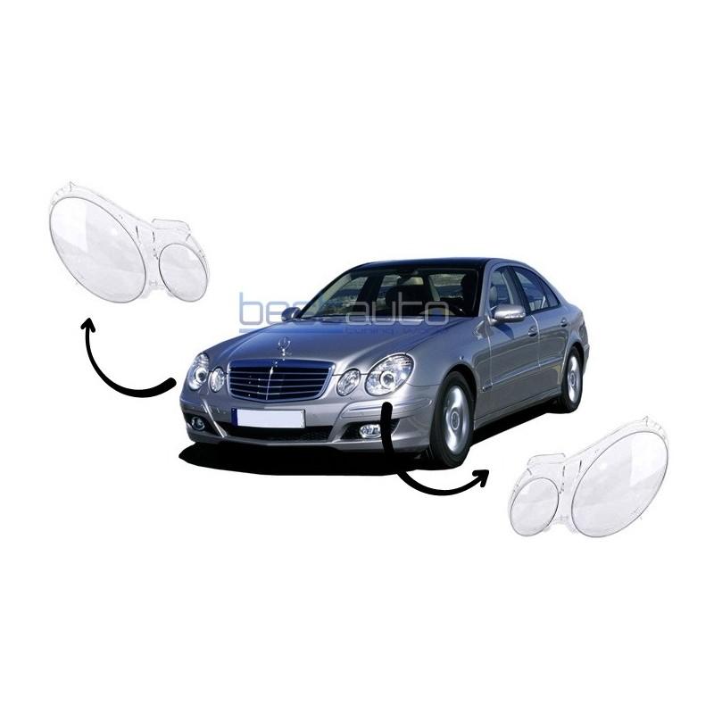 Стъкла / капаци за фарове за Mercedes E-Class W211 (02-09)