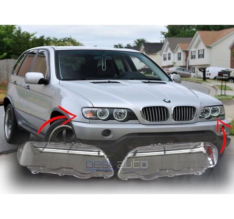 Стъкла / капаци за фарове за BMW X5 E53 (99-03)