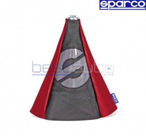 Универсален маншон за скоростен лост SPARCO червен