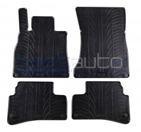 Автомобилни гумени стелки за Mercedes S-Class W222 къса база (2013+)