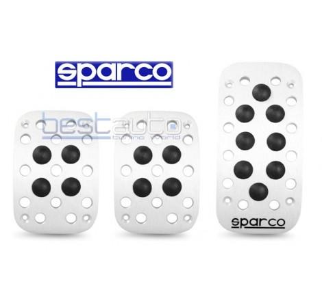 Подложки за педали алуминиеви SPARCO черни