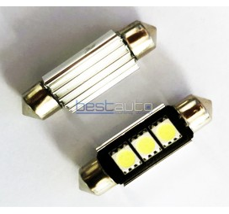 LED крушки Canbus C5W 39мм - 2 броя [C47]