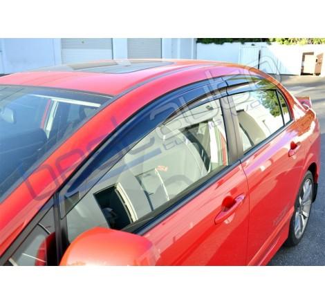 Ветробрани Sunplex Mugen Стил за Opel Astra G хечбек и седан