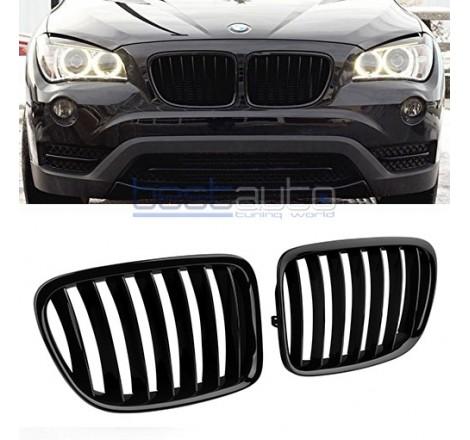 Бъбреци за BMW X1 E84 (2009+) Черен Гланц