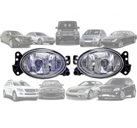 Халогени за Mercedes W169 / W209 / W219 / W211 / W463 / X164 / W251 / R230 / W204 / W164