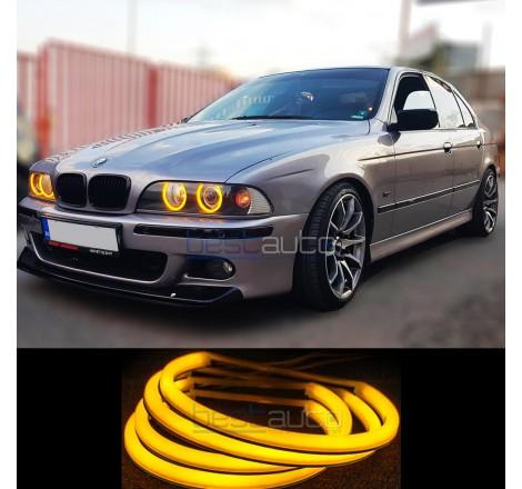 "LED SMD АНГЕЛСКИ ОЧИ ""STRONG POWER"" ЗА BMW E39 - жълти"
