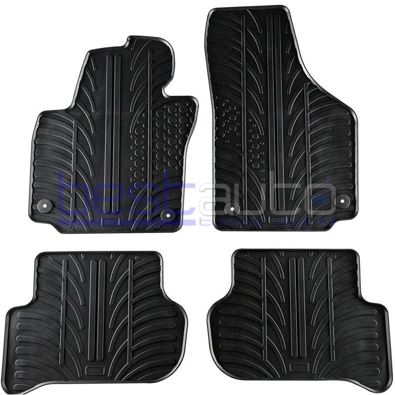 Автомобилни гумени стелки Gledring за Skoda Yeti (2009-2013)