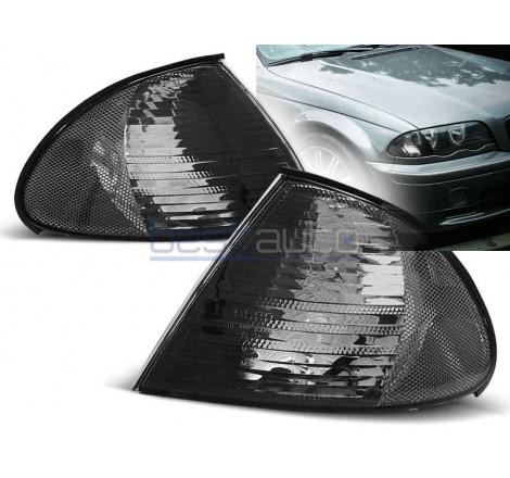 Тунинг мигачи за BMW Е46 Седан / Комби (1998-2001) Опушени