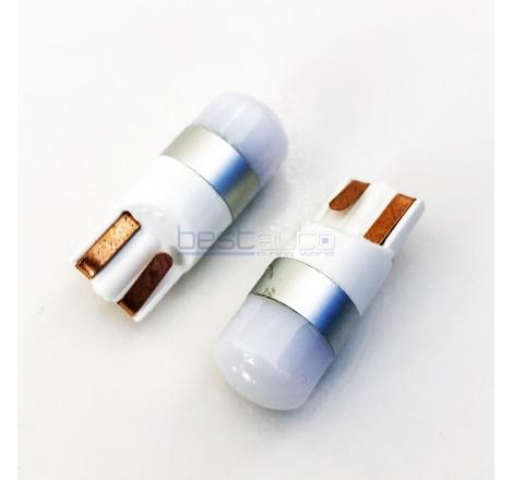 LED крушки Canbus плътна светлина за габарит / интериор T10 W5W - 2 броя