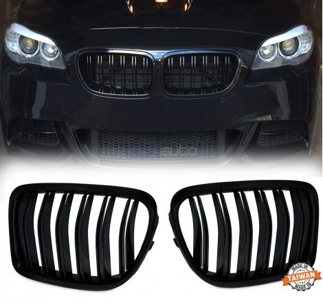 Бъбреци за BMW X1 E84 (2009-2015) Черен Гланц Двойни
