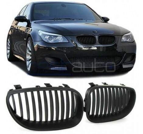 Бъбреци за BMW E60 (2004-2010) Черен Мат