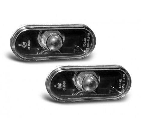 Тунинг мигачи странични за VW Golf 4 / Golf 3 (95+) / Bora / Passat B5 / Seat Ibiza / Cordoba / Toledo черни