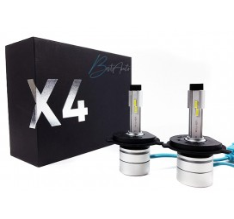 """LED крушки за фарове """"X4"""" H4 5500K 5600LM"""