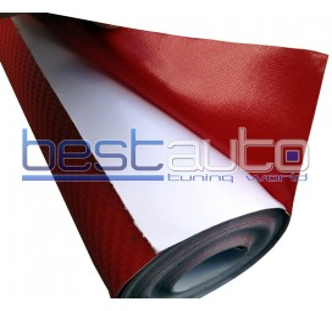 3D Червено Карбоново Фолио 300 x 127 cm.