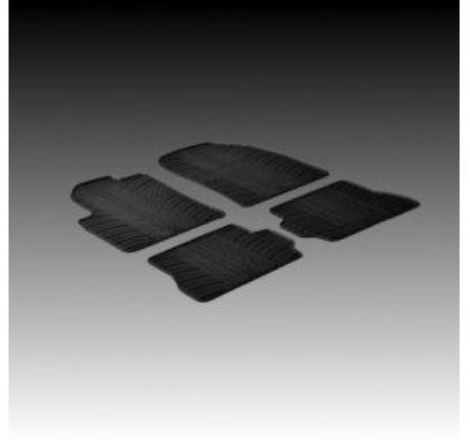 Автомобилни гумени стелки за Ford Fusion (2002-2007) [G4006]